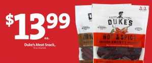 EXPRESS - Duke's Meat Snacks $13.99