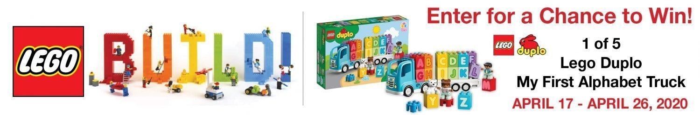 Lego Alphabet Truck Sweepstakes
