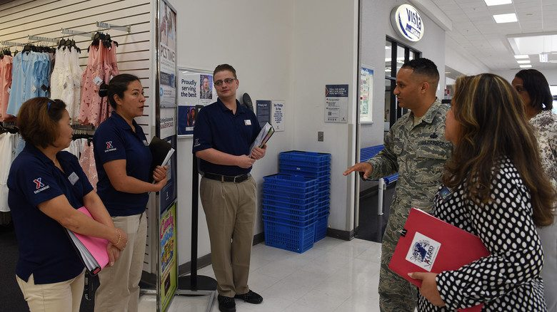 The Army & Air Force Exchange Service's senior enlisted advisor speaks with Exchange associates