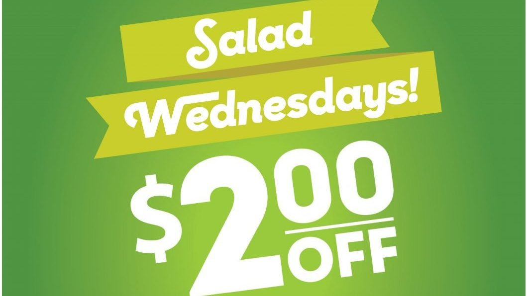 Exchange Shoppers Can Save on Eating Healthy with Salad Wednesdays