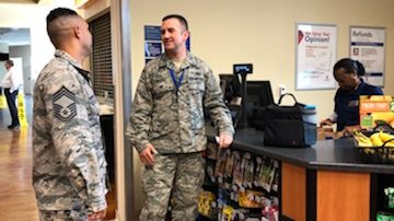 Exchange Senior Enlisted Advisor Pumps Up BE FIT Options at SOUTHCOM