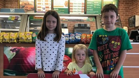 Camp Foster Family Donates Exchange Sweepstakes Prize to Local Charity