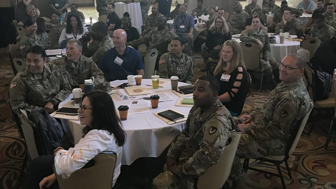 AAFES attends BOSS conference