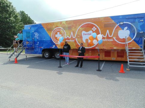 Exchange opens mobile dental clinic at JBLE
