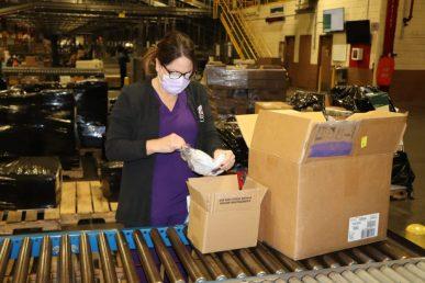 Army & Air Force Exchange Service Procures Face Masks For Store, Distribution Center Associates