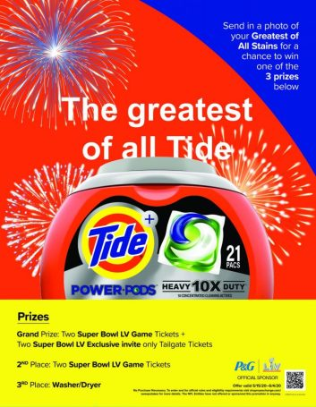 Greatest of All Tides Sweepstakes Poster