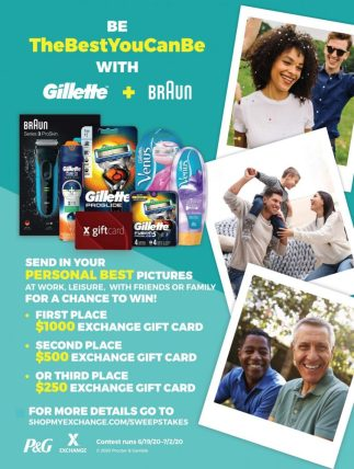 P&G Best You Can Be Sweepstakes
