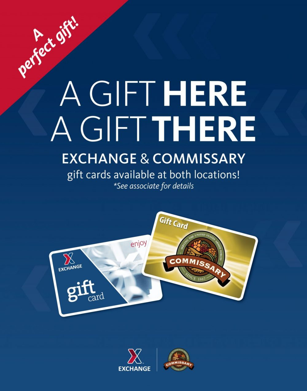 Exchange partners with commissary on gift card sales