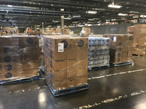 When Hurricane Dorian struck the Caribbean and the Carolinas in August and September, the Exchange shipped nearly 150,000 emergency supplies to stores, allowing most Exchanges and Expresses from Florida to Virginia to stay open.