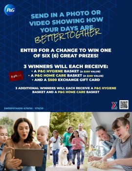 Military Shoppers Can Show They Are 'Better Together' with Exchange and P&G Sweepstakes