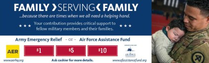 Military relief funds