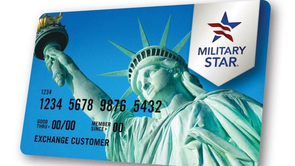MILITARY STAR Card Angled