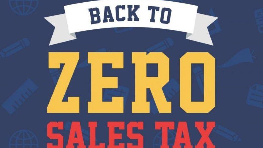 BTS Sales Tax Holiday