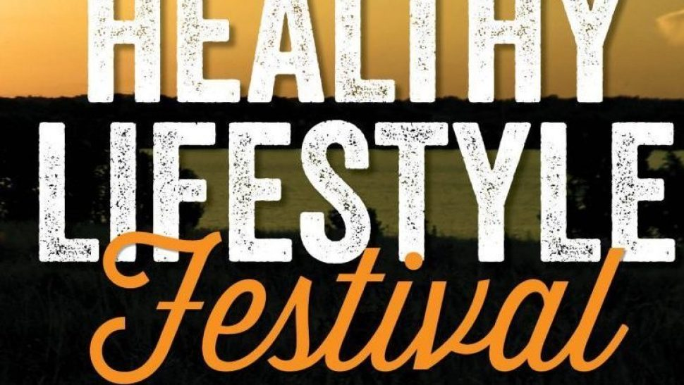Healthy Lifestyle Festival, BE FIT, Exchange, and Commissary logos