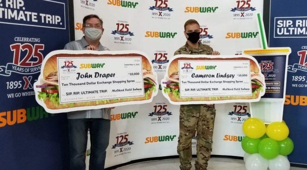 JBLM Sip Rip Ultimate Trip Winners