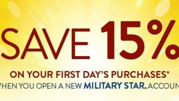 MilStar First-Day Discount MAY