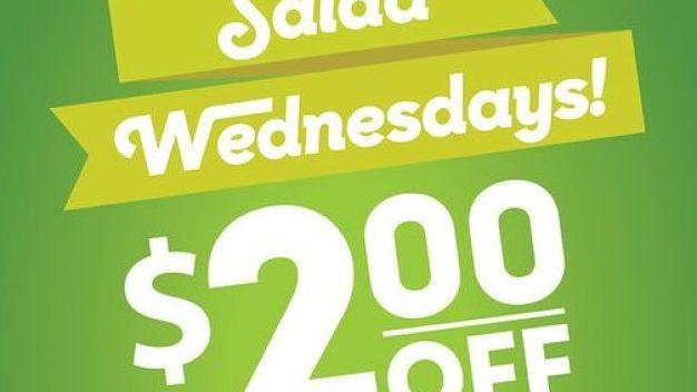 Salad Wednesdays image