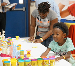 Family Serving Family - Play-Doh Event