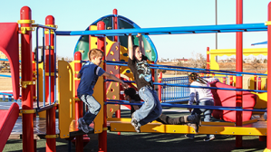 In 2017, the Exchange provided $219 million for critical Quality-of-Life programs, such as this playground and equipment for military brats.
