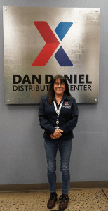 Melissa Cooper, loss prevention manager at the Dan Daniel Distribution Center