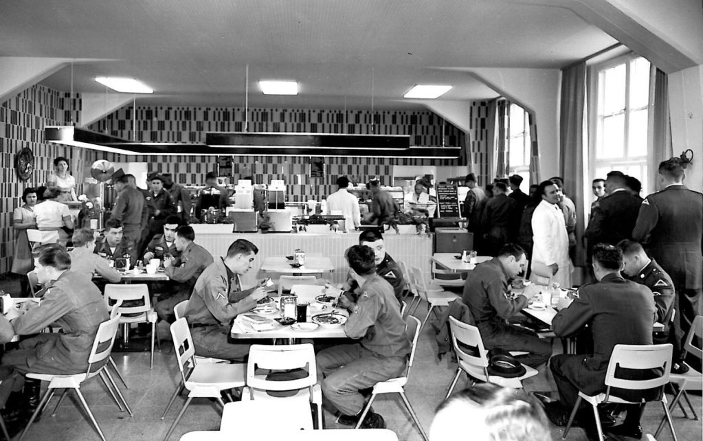 Fort Carson cafeteria