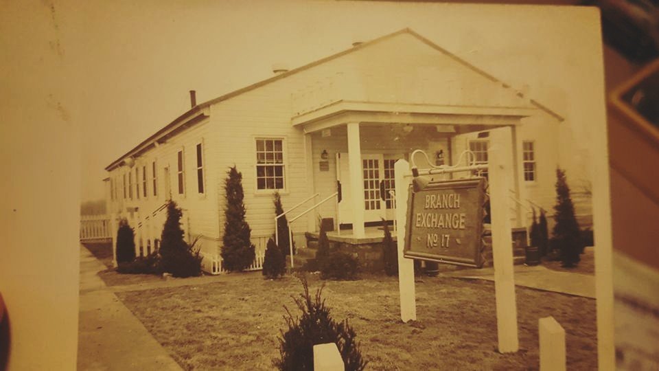 Fort Campbell branch exchange, early 1950s.