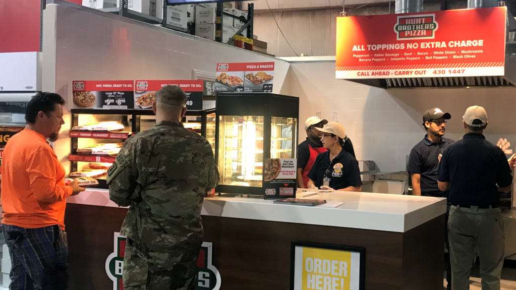 Hunt Brothers, with 48 locations on Army and Air Force installations worldwide, is thrilled to bring yet another taste of home to those serving in Kuwait.