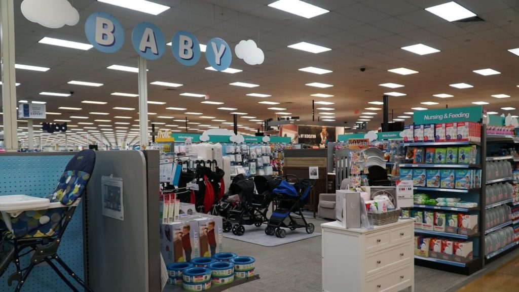 Since August 2019, baby sections in 13 Exchange stores have received major face-lifts, and more stores are in line for the upgrades.