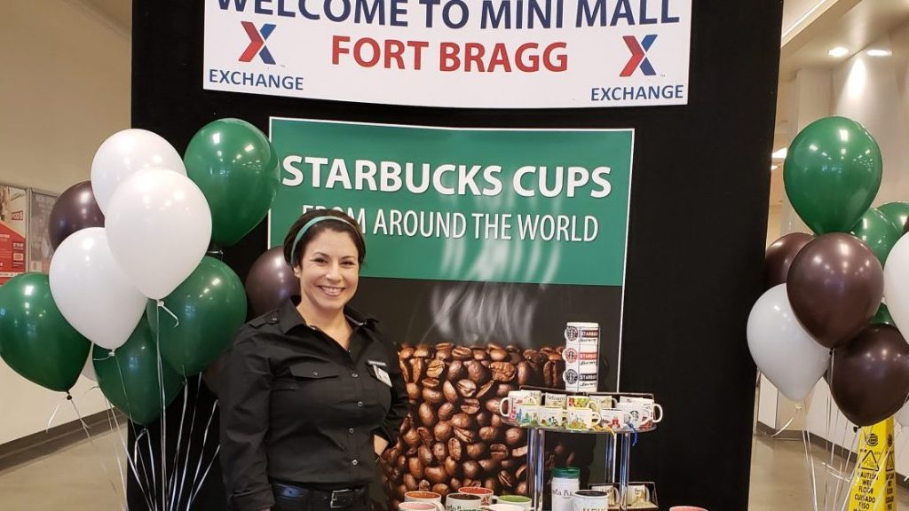 """The unique aspect of Starbucks cups . . . is that they incorporate cultural components of the state or country,"" collector Yajaira Jimenez says."