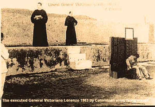 muerte de victoriano lorenzo