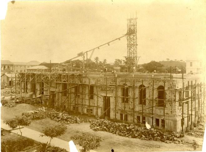 Construcción Embajada 1