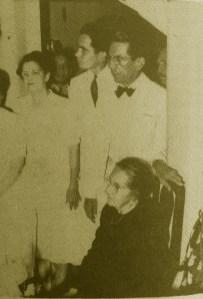 Doña Carmen durante el homenaje