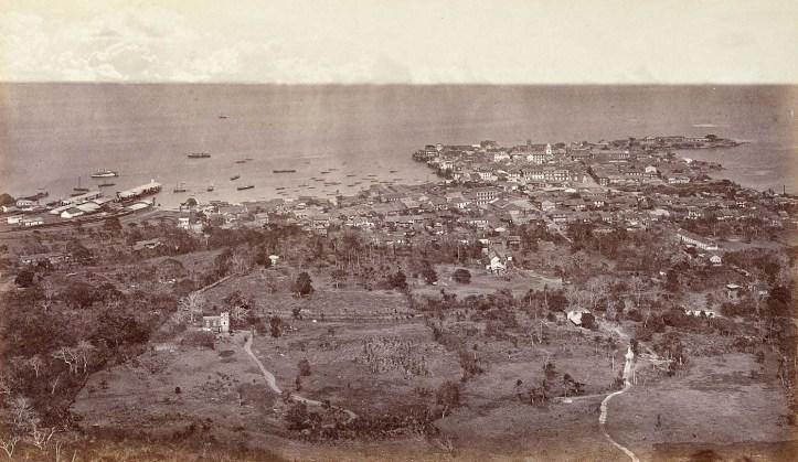 Panorámica de la ciudad de Panamá desde el Cerro Ancón