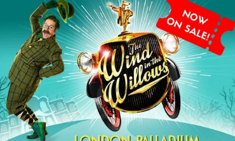 Rufus Hound leads The Wind in the Willows to Palladium: ON SALE
