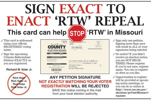 Citizens Referendum petition to enact 'RTW' repeal must be...
