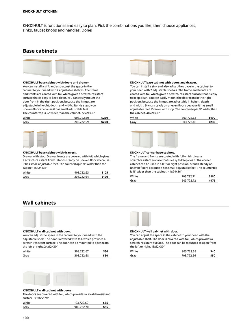 Adjusting Ikea Drawers : adjusting, drawers, Kitchens, Buying, Guide, English, 98-99