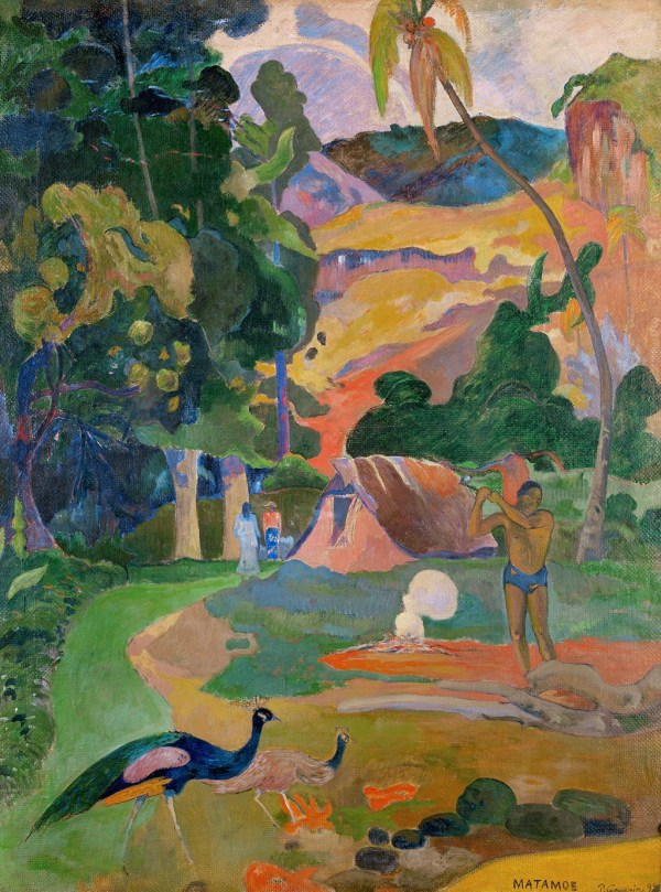 Gauguin Cat. 47 Man With Ax 2002.231