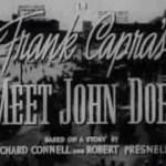 Frank Capra's Meet John Doe