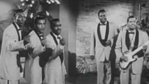 Rock, Rock, Rock (film), with  Chuck Berry, the Flamingos, and the Teenagers with Frankie Lymon