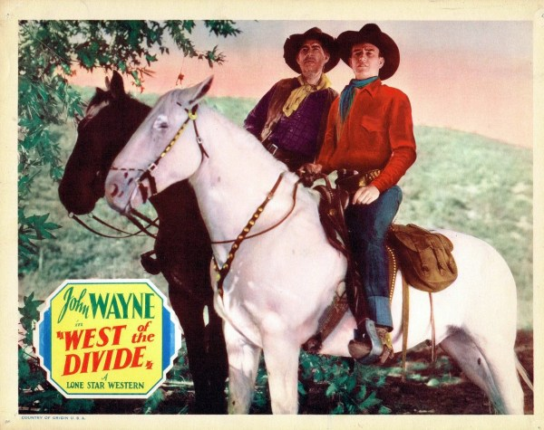 West of the Divide, 1934