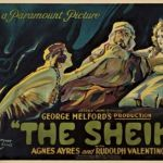 The Sheik, 1921 film starring Rudolph Valentino