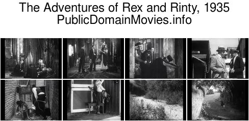 The Adventures of Rex and Rinty, 1935