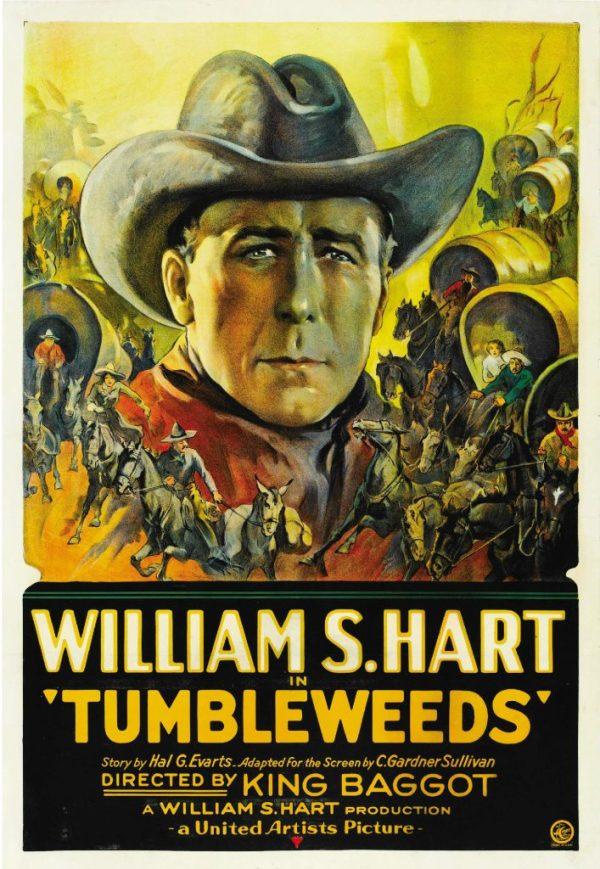 Tumbleweeds, 1925 western starring William S. Hart