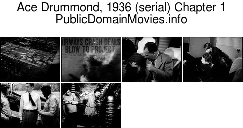 Ace Drummond, 1936 (serial) Chapter 1: Where East Meets West