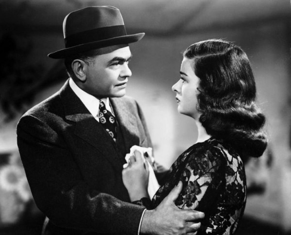 Scarlet Street, 1945 film noir directed by Fritz Lang and starring Edward G. Robinson