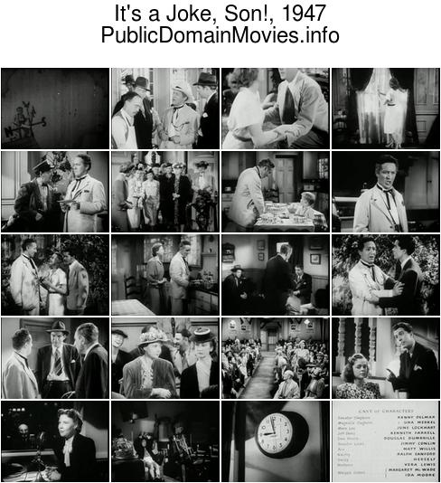 It's a Joke, Son!, 1947