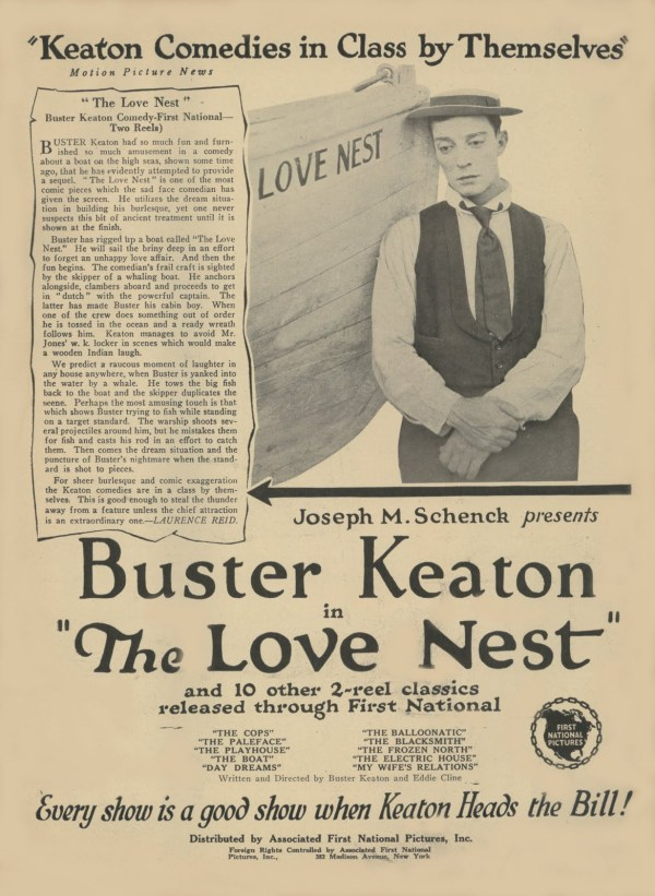 The Love Nest, 1923 film
