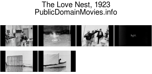 The Love Nest, 1923 film starring Buster Keaton