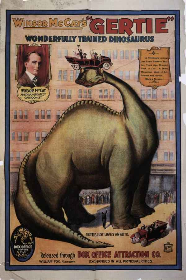 Gertie the Dinosaur, 1914