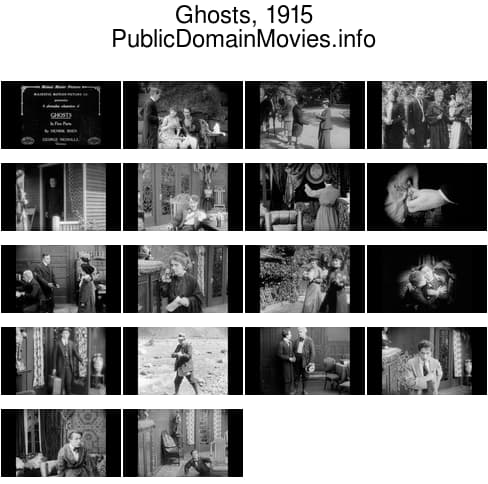 Ghosts, 1915